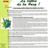 """Anciens Appelés en Algérie et leurs Amis Contre la Guerre """"La lettre de la 4acg"""""""