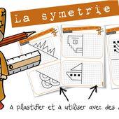 Maths cycle3 : la symétrie - entrainement