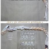 Mes 101 Luby - Point Croix, Hardanger, Cartonnage, Art floral, Couture, Epagneul Breton,