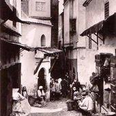 un détail de la Casbah d'Alger