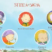 Stella et Sacha en 5 applis amusantes - Enfants Québec