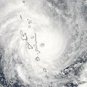 Cyclones Thrash Vanuatu and Western Australia : Image of the Day