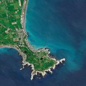 Powerful Earthquake Exposes New Land Near Kaikoura : Image of the Day