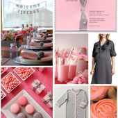 The Finer Things: A Pink & Grey Girly Baby Shower
