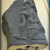 Stele of of the Akkadian king Naram Sin, from Pir Huseyin, Diyarbakir, Turkey.