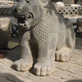 Hittite lion, Tell Tayinat