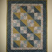 Doll-quilt, one more - Tempus fugit