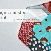 Canoe Ridge Creations: hexagon coaster tutorial.