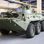 La Russie adapte son BTR-82A pour l'Arctique - FOB - Forces Operations Blog