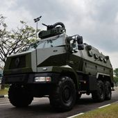 Le Higuard prend officiellement du service dans l'armée Singapourienne - FOB - Forces Operations Blog