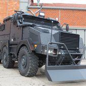 """Milipol 2015: Nouvelle mue """"Sécurité Intérieure"""" pour le TITUS de Nexter - FOB - Forces Operations Blog"""