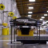 Amazon teste la livraison avec des drones