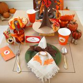 Giving Thanks - A Thanksgiving Kids' Table