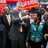 De Blasio Is Elected New York City Mayor, Exit Polls Show