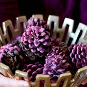 Make Your Own Wax-Dipped Cinnamon Pinecone Firestarters | Hello Glow