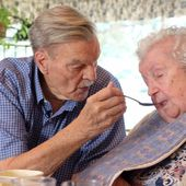 Love lives on: Couple married 66 years copes with Alzheimer's disease