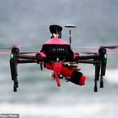Life-saving drones to rescue swimmers off French coast