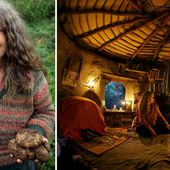 Meet Mrs Bilbo Baggins: Oxford graduate quit mainstream society to live a hobbit-style existence in mud hut in the Welsh hills