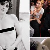 Pictured: The sexually charged screen roles and modelling career of French President Francois Hollande's 'mistress'
