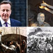 Cameron is descendant of medieval Scots who fought AGAINST English
