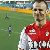 Dimitar Berbatov scores brilliant volley during friendly for Monaco