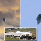 Couple capture footage of a UFO close to US military base in Ohio