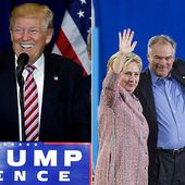 Donald Trump slams 'Crooked Hillary's' choice of 'Corrupt Kaine'