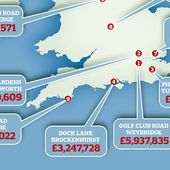We reveal UK's most expensive street where the average home costs £35M