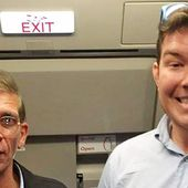 Briton Ben Innes who posed for 'selfie' with Egyptair hijacker praised by relatives