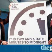 Doomsday Clock closer to midnight in wake of Trump presidency