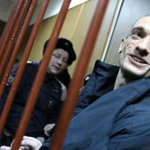 Protest artist Petr Pavlensky in court after setting fire to Lubyanka