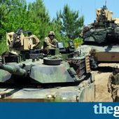 Nato countries begin largest war game in eastern Europe since cold war
