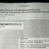 MI5 report challenges views on terrorism in Britain