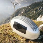 This Tiny, Self-Powered Living Capsule Lets You Dwell Anywhere On Earth
