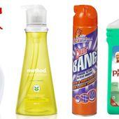 """Les 8 produits ménagers """"bêtes noires"""" de 60 millions de consommateurs"""