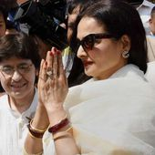Actor Rekha Attends Rajya Sabha Proceedings For First Time In Budget Session