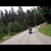 Goldwing unsersbande Sortie dans les Vosges 31 07 16 17