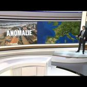 Anomalie du Jet Stream sur l'Europe et la France -