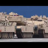Germany: US tanks arrive in Bremerhaven for eastern Europe NATO drills