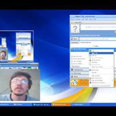 How to stream desktop screen capture on video chat applications