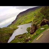 Goldwing Unsersbande - The black valley, Killarney National