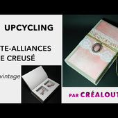 TUTO livre creusé porte alliances_Make a compartment book (ring cushions)