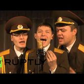 'Polite but formidable': Russian Army choir sings 'Modern Talking'