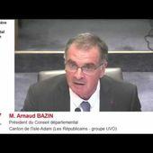 Intervention du Président sur la situation des mineurs isolés en Val d'Oise