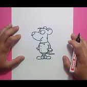 Como dibujar un raton paso a paso 12 | How to draw a mouse 12
