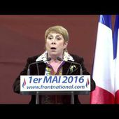 Discours de France Jamet 1er mai 2016 - FRONT NATIONAL 81