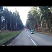 Goldwing Unsersbande - ballade du jour du printemps 2016 routes sineuse