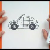 Como dibujar un coche paso a paso 5 | How to draw a car 5