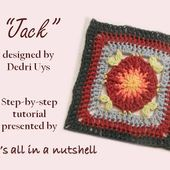 Jack - Optional square for Sophie's Universe CAL part 19