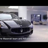 Italian Luxury Car Maker Maserati Sells on Tmall